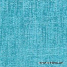 Fabric... Mod Century Tonal Tweed Texture in Turquoise by Moda Fabrics