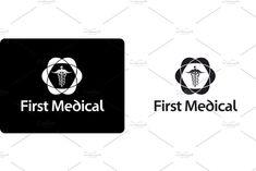 Medical Logo Design ~ Logo Templates ~ Creative Market Logo Psd, Medical Logo, Juventus Logo, Logo Templates, Logo Design, Creative, Illustration, Illustrations