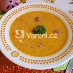 Polévka z kysaného zelí s klobásou Thai Red Curry, Ethnic Recipes, Food, Essen, Meals, Yemek, Eten