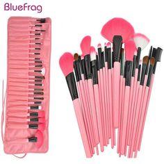 BLUEFRAG Makeup Brushes Set & Kits Professional 24 Pcs Portable Facial Full Cosmetic Brush Tools Kit Makeup Accessories 3 Color
