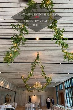 One way to utilize the elements present at your wedding venue is with our Cafe Lights. Wrapped in Greenery, they pair beautifully with one of our crystal chandeliers for an earthy, romantic ambiance. For more ways to incorporate our rentals into your reception, check out our blog post! #WeddingGreenery #CrystalChandelier #RusticWedding #LightingDesign #WeddingReceptionIdeas #Charleston Rustic Wedding Reception, Wedding Venues, Middleton Place, Wedding Decorations, Table Decorations, Event Services, Event Decor, Lighting Design, Wedding Styles