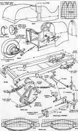 Resultado de imagen para bugatti pedal car plans free