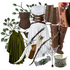 Beautiful Huntress Outfit