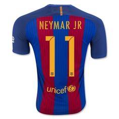 Barcelona 16-17 Neymar Jr 11 Hjemmebanetrøje Kortærmet.  http://www.fodboldsports.com/barcelona-16-17-neymar-jr-11-hjemmebanetroje-kortermet.  #fodboldtrøjer