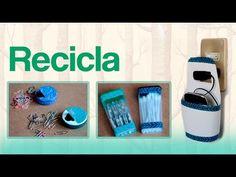 Reciclar con envases de plástico ♻ - YouTube