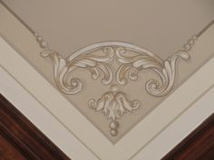 coffered ceiling corner