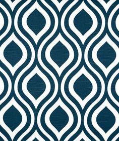 Premier Prints Emily Premier Navy Slub Fabric - $10.98   onlinefabricstore.net