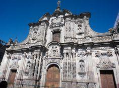 Iglesia de la compañia de Jesus en Quito -