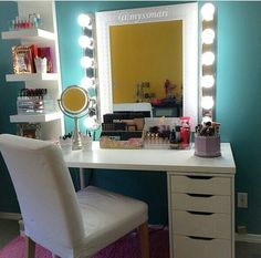 Ikea Makeup Vanity Idea