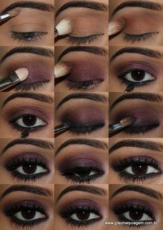 great idea - US Makeup Trends Makeup 101, Love Makeup, Makeup Trends, Makeup Inspo, Makeup Inspiration, Beauty Makeup, Makeup Jokes, Makeup Geek, Black Girl Makeup