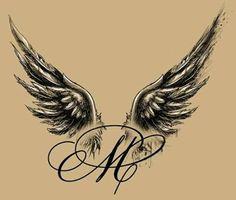 Resultado de imagem para angel wings tattoo