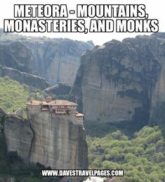 Meteora was a place in Greece I simply had to visit on my recent Big Fat Greek Road Trip. Rarely do places live up to the hype, but Meteora did. Mountains, monasteries, and monks – Check out this article to see some photos of one of the most amazing places in Greece.