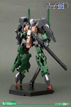 Manufacturer of science fiction, comic, movie and video games figures. Japan. KOTOBUKIYA FRAME ARMS EXTEND ARMS 01 FOR REVENANT EYE PLASTIC ...