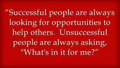 Read this quote about Successful People.  Do you agree?  If so, please re pin.