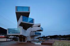 AND: aggrenad hotel, south korea via designboom
