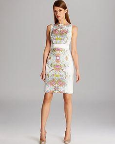 KAREN MILLEN Dress - Delicate Floral Print | Bloomingdale's