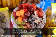 Dehydrated food tips