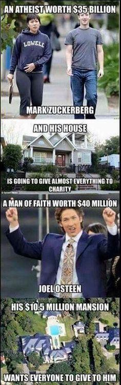 "The Bible has a name for this ""wolves in sheeps clothing"" Wake up Christians! Don't support these money whores. if you STUDIED your Bible you wouldn't be deceived! Atheist Humor, Losing My Religion, Question Everything, That Way, Christianity, Faith, Thoughts, This Or That Questions, Words"