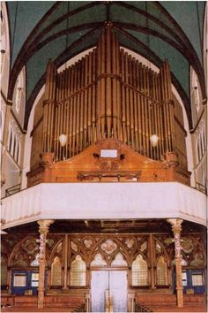 Midmer & Son Organ (1895) in Church of Our Lady of Victory, Brooklyn ...