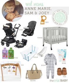 Real Moms Favorite Baby Products (Orbit Baby Travel Collection, Stokke Flexi Bath, Land of Nod Wee Wonderful Gym, etc.)