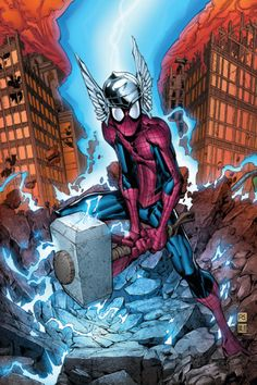 """Marvel Ådventures """"Two-In-One"""" Spider-Man Vol.1 #40 Cover by: Ryan Stegman."""