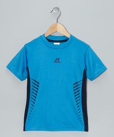 Take a look at this Blue Full Speed Top - Boys by Russell Athletic on #zulily today!