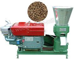 Portable Wood Pellet Mill-Got Sawdust? Make Your Own Biomass Pellets Now!
