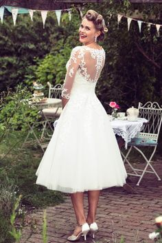 Trending Love the back on this dress Would wear this for the registry office truebride