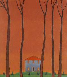 """My Father's House, Oil on Canvas on Panel, 27 1/2"""" x 24"""", 2007"""