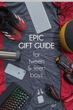 It feels impossible to shop for tween and teen boys! They're in these vague middle years where toys aren't quite right but neither are practical adult gifts. And you'd love to get them something besides more tech. It's easier to just ask for a wish list, but then you miss out on surprising them! Whether your budget is big or small, we know how much it means to our tween and teen boys when we give a gift they love.