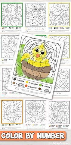 Color by number worksheets. #coloringbynumber #coloringbynumber #worksheetsforkids