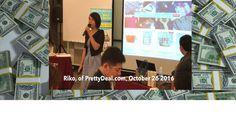 Asia Mind Dynamics - Riko of PrettyDeal.com, breaking through her barrie...