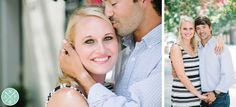 Romantic engagement photos // by Charleston engagement photographers Aaron and Jillian Photography