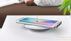 New design QI wireless charger for Samsung S6/S6 Edge gift