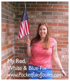 July Stitch Fix Review - My Red White and Blue Fix - Pocketful of Joules