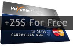 What is a Payoneer Prepaid MasterCard? Payoneer is your World Pay Partner. Sign up now and earn $25 bonus. Anyone join world wide.