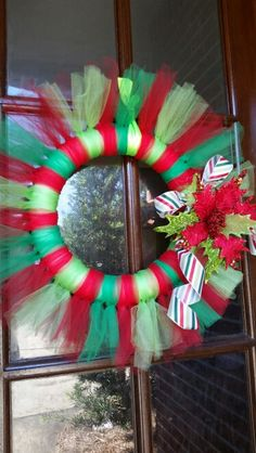 Christmas Tulle by One Wreath at a Time, only $35