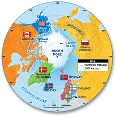 Arctic Security: Changing Paradigms for the Century World Map Continents, Norwegian People, Circle Map, World Conflicts, Siberia Russia, Map Globe, Arctic Circle, Historical Maps, Science Projects