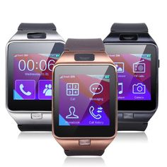 ELEGIANT Z20 Clock SmartWatch Bluetooth Touch Screen Watch Bracelet Mini Smartphone With multifunction Photography Music player video player pedometer, sleep monitoring Anti-Loss System For Android Samsung Sony Nokia HTC Huawei LG Top Smartphone with Bluetooth Function Gold. High-capacity polymer battery 450mAH more than 180 hours of standby time. Health Pedometer,Sleep monitoring,Stopwatch,Alarm Clock,Remote smart phones to take pictures,anti-lost,Call records. Bluetooth 3.0...