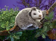 Opossum Hand Puppet by Folkmanis