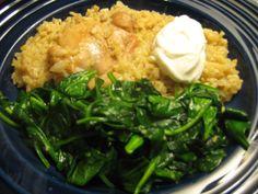 Yaya's Greek Chicken & Rice
