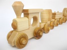 Popular items for wooden train on Etsy
