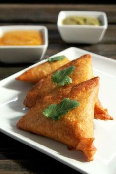 Pea and Potato Indian Samosas