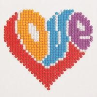 It's all about the........ #crossstitch #love
