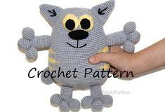 Amigurumi cat pattern toy cat Crochet pattern animal cat pdf