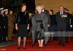 AC Queen Elizabeth ll and Prince Philip, Duke of Edinburgh arrive to view the Queen Elizabeth II Diamond Jubilee Steps at the the Royal Albert Hall on November 9, 2013 in London England. The South Steps were renamed the Queen Elizabeth II Diamond Jubilee Steps in 2012 in celebration of the Diamond Jubilee