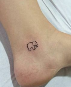Elephant Tattoo Designs That Talks Of Strength And Good Luck - Blurmark Tattoo Girls, Tiny Tattoos For Girls, Best Tattoos For Women, Tattoos For Guys, Palm Tattoos, Subtle Tattoos, Trendy Tattoos, Foot Tattoos, Stomach Tattoos