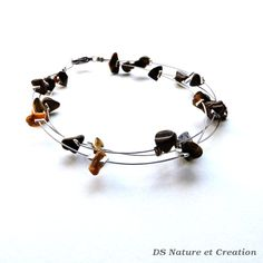 by DSNatureetCreation on Etsy https://www.etsy.com/listing/251577898/silver-wire-jewelry-tiger-eye-bracelet?ref=shop_home_active_1