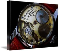 """A. Lange & Sohne Swiss watch canvas print in Stretched Canvas configuration. Price starts at $62 (Petite 8"""" x 10""""). #alangesohne #alangesohnewatch #collectibles #canvas #canvasprint #photoincanvas http://www.imagekind.com/A-Lange--Sohne-Swiss-Timepiece_art?IMID=f59c96d5-ffd1-4161-90e3-0361617473b8"""