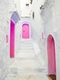 Pink, reminds me of Greece